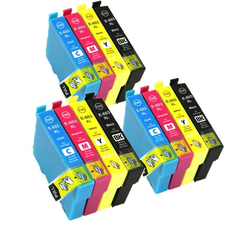 Cartucho de tinta Compatible 603XL 603 XL para impresora Epson Expression Home XP-2100/XP-2105/XP-3100/XP-3105/XP-4100/XP-4105 Europa