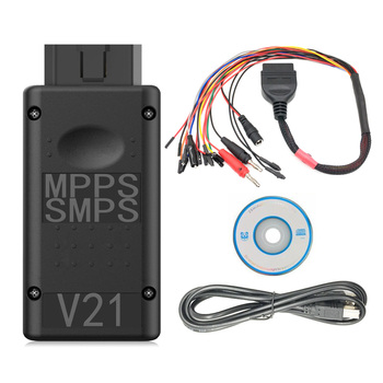 MPPS V21 ECU Chip Tuning MAIN + TRICORE + MULTIBOOT with Breakout Tricore Cable ECU Flasher stainless steel led bdm frame ecu chip tuning bracket with adapter set 4 probe pens