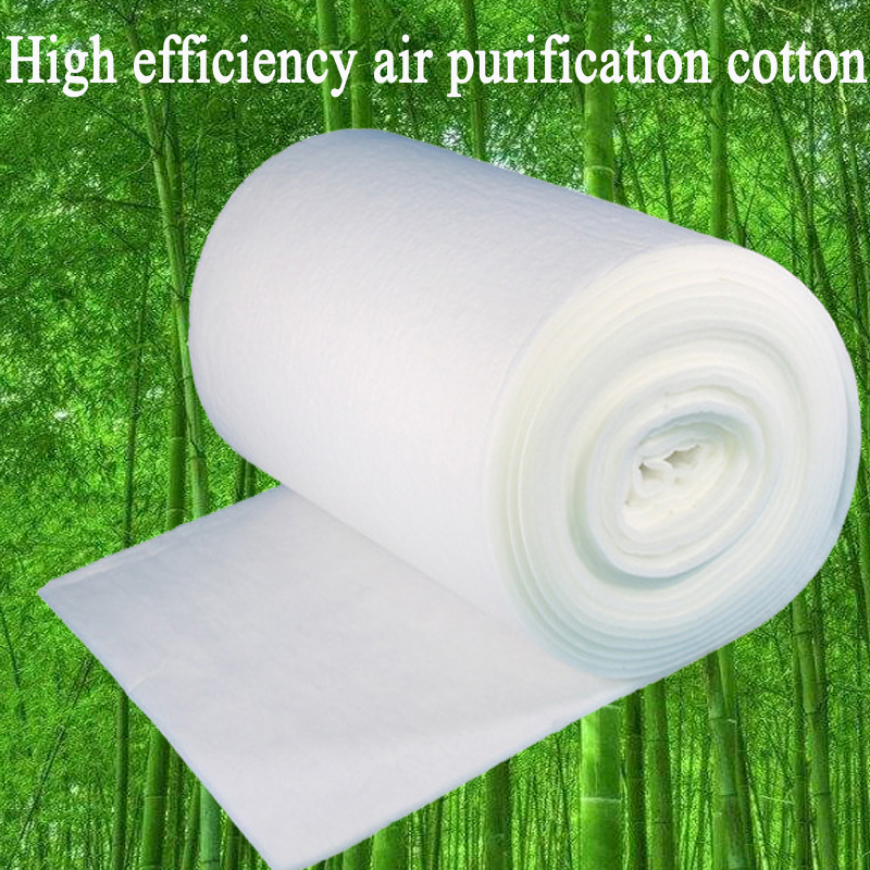 10mm Thickness Can Clean Air Conditioning Air Inlet Primary Effect Filter Cotton Fan Baking Paint Room Air Filter Cotton X-041