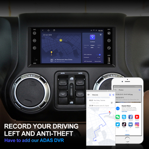 Image 5 - Isudar H53 4G Android 2 Din otomobil radyosu için Jeep/wrangler/patriot/pusula/yolculuk araba multimedya GPS 8 çekirdekli RAM 4GB ROM 64GB DVR