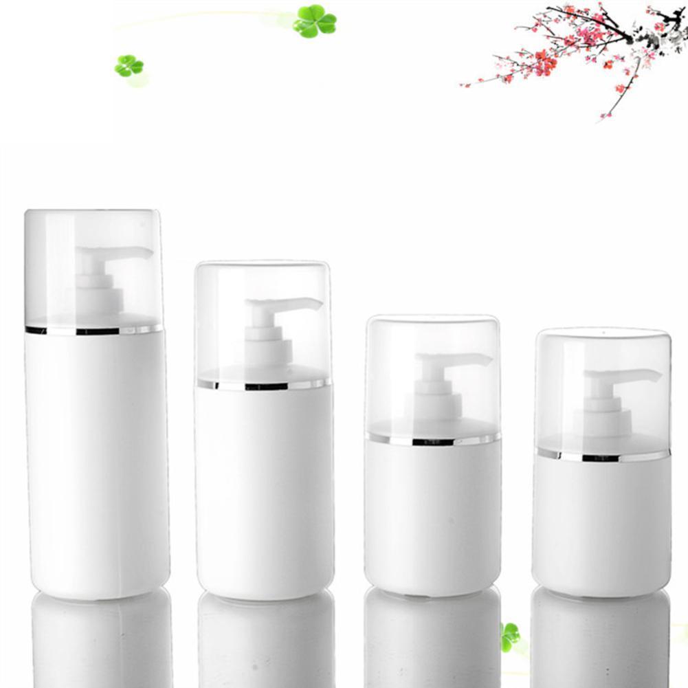 Refillable Bottles Plastic Empty Makeup  Travel Face Cream/Lotion/Cosmetic Container Storage Bottle  4Pcs 250/300/400/500ml