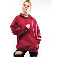 Women Hoodie New Loose Casual Sport Bat Sleeve Hoodies Plus Size Sweatshirt Black Pink Streetwear Hooded