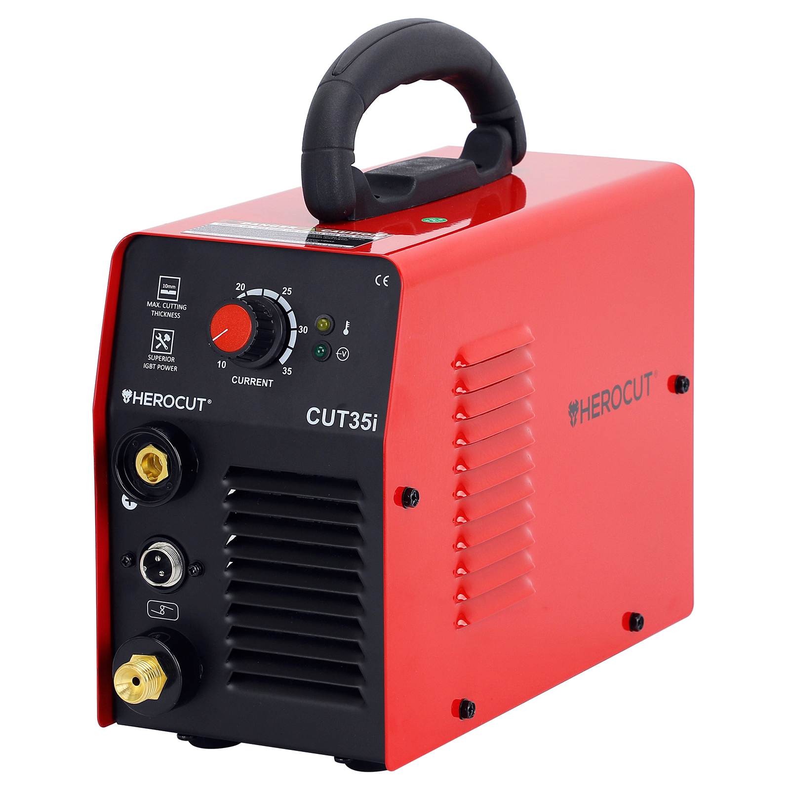 HeroCut Cut35i 220V Plasma Cutter Great To Cut Stainless Steel 6mm Clean Cut Air Plasma Cutting Machine