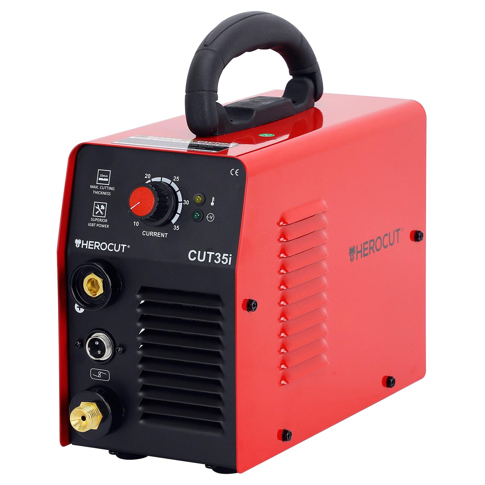 HeroCut Cut35i 220V Plasma Cutter Great To Cut Stainless Steel 6mm Clean Cut Air Plasma Cutting Machine