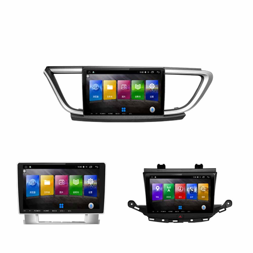 9,66 Inch Android Auto Multimedia GPS Navigation Video Player DVD-System + Rahmen Fü<font><b>r</b></font> Buick Excelle Verano Encore <font><b>Mokka</b></font> Regal HRV image