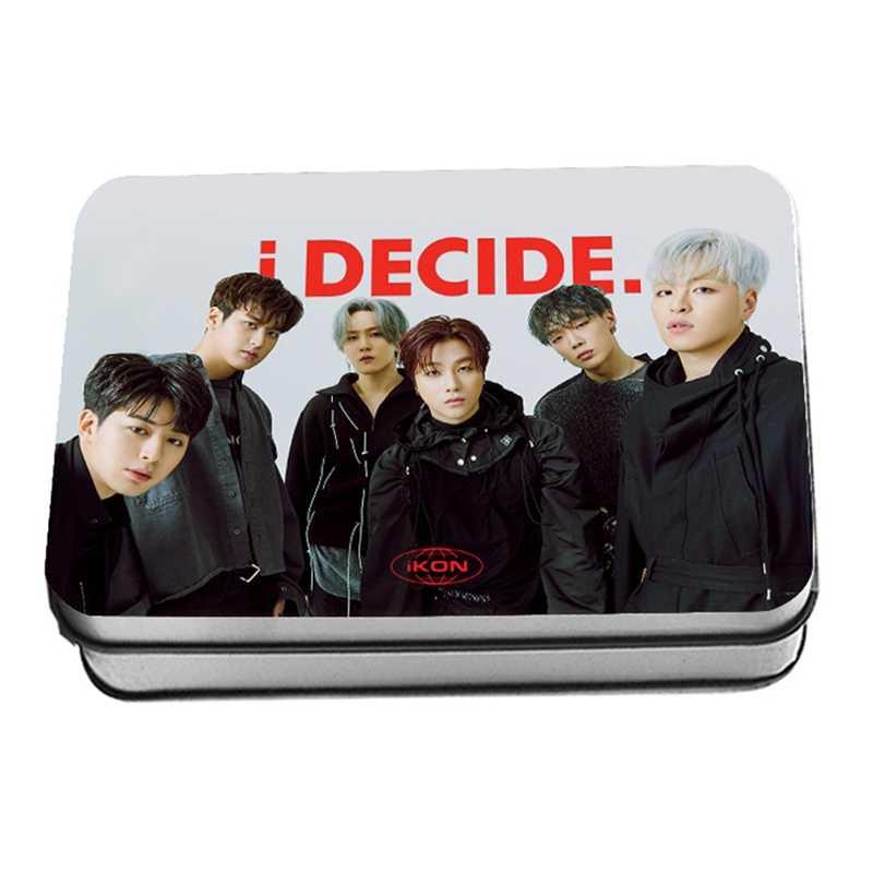 New 30Pcs Set Kpop IKON New Album I DECIDE Photo Cards DIY Lomo Card Postcard Kawaii.jpg q50