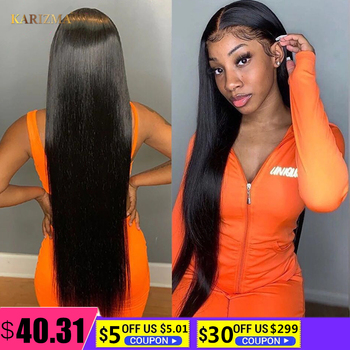 Brazilian Straight Lace Front Wigs 180% Density 13X4 Lace Front Human Hair Wigs 30inch T Part Wigs Transparent Lace Frontal Wig yyong 13x1 hairline straight lace front wigs 150% density 13x4 remy human hair lace front wigs transparent lace part wig 32in