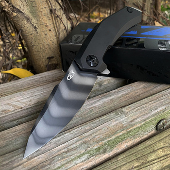 ZT0095 bearing folding knife S90V Tiger blade titanium alloy handle outdoor Self-defense multi-function knife titanium alloy heavy duty utility knife cutting paper unpacking wallpaper knife multi function outdoor edc defense portable