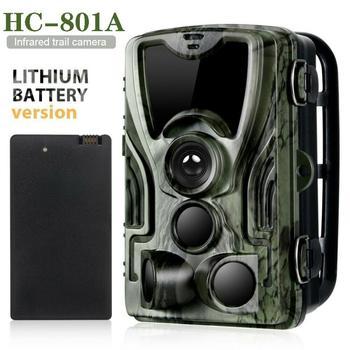 HC801A Hunting Camera 5000Mah Li-Battery 1080P 16MP 32GB/64GB IP65 Photo Traps 0.3s Trigger Time 940nm Wild Camera 8