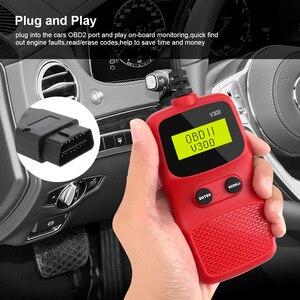 Image 5 - OBD2 Code Reader OBD 2 Scanner OBDII ELM 327 Plug and Play Car Diagnostic Tool Digital Display V300 Hand held
