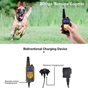 Image 2 - Электрическая система ограждения для домашних животных ошейник с дистанционным управлением водонепроницаемый Электрический для больших собак устройство для тренировки домашних животных 5