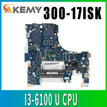 Free Shipping For Lenovo ideapad 300-17ISK BMWD1 NM-A491 Laptop motherboard SR2EX 4405U CPU image