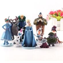 Elsa Anna Boneka Patung-patung