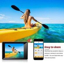 Беспроводная Wifi Экшн-камера HD 4K водонепроницаемый широкоугольный 2,0 дюймовый экран для спорта на открытом воздухе OUJ99