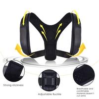Adjustable Back Aligner Posture Aligner Back Shoulder Lumbar Support with Posture Correction To Prevent Strained Back Protector