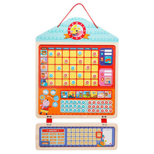 Children Drawing Toys Growth Self-discipline Board Table Kindergarten Baby Praise Sticker Magnetic Good Habits 5-7 Years