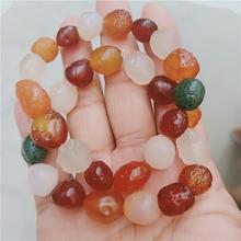 Stone Xinjiang Bracelet Gobi Natural Raw agate slice