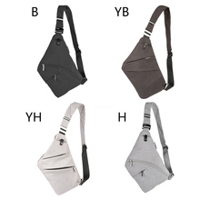 купить Men Fashion Concise Casual Waterproof Sport Solid Color Travel Adjustable Strap Shoulader Bag по цене 554.38 рублей