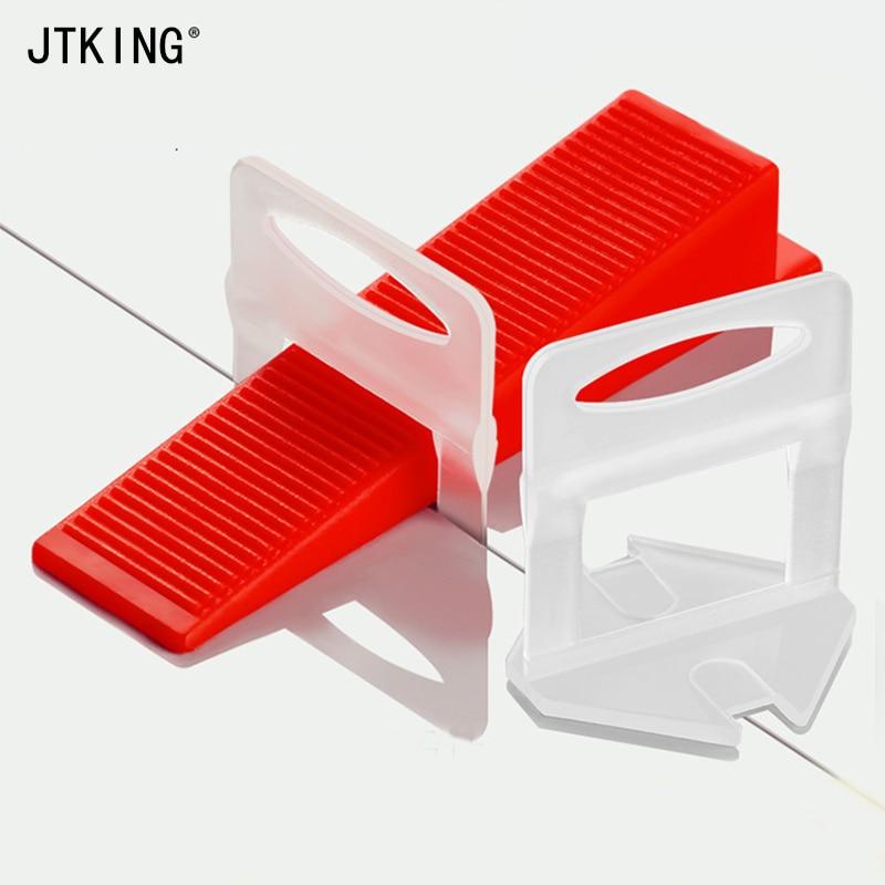 200PCS 1mm Tile Leveling System Spacer Kit Tile, Floor Tile Alignment Tool Household Brick Alignment System