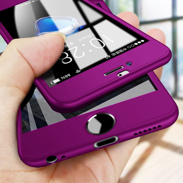 Luxury 360 Full Cover Case For iPhone