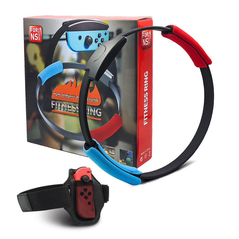 FItness Ring Set For Nintend Switch Joy-con Ring Fit Adventure Game Include Ring-Con And Leg Strap