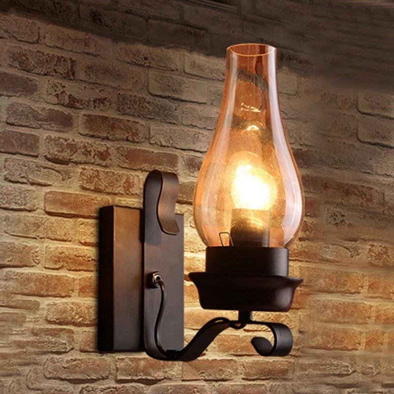 vidro e humor luz decorativa lâmpada para