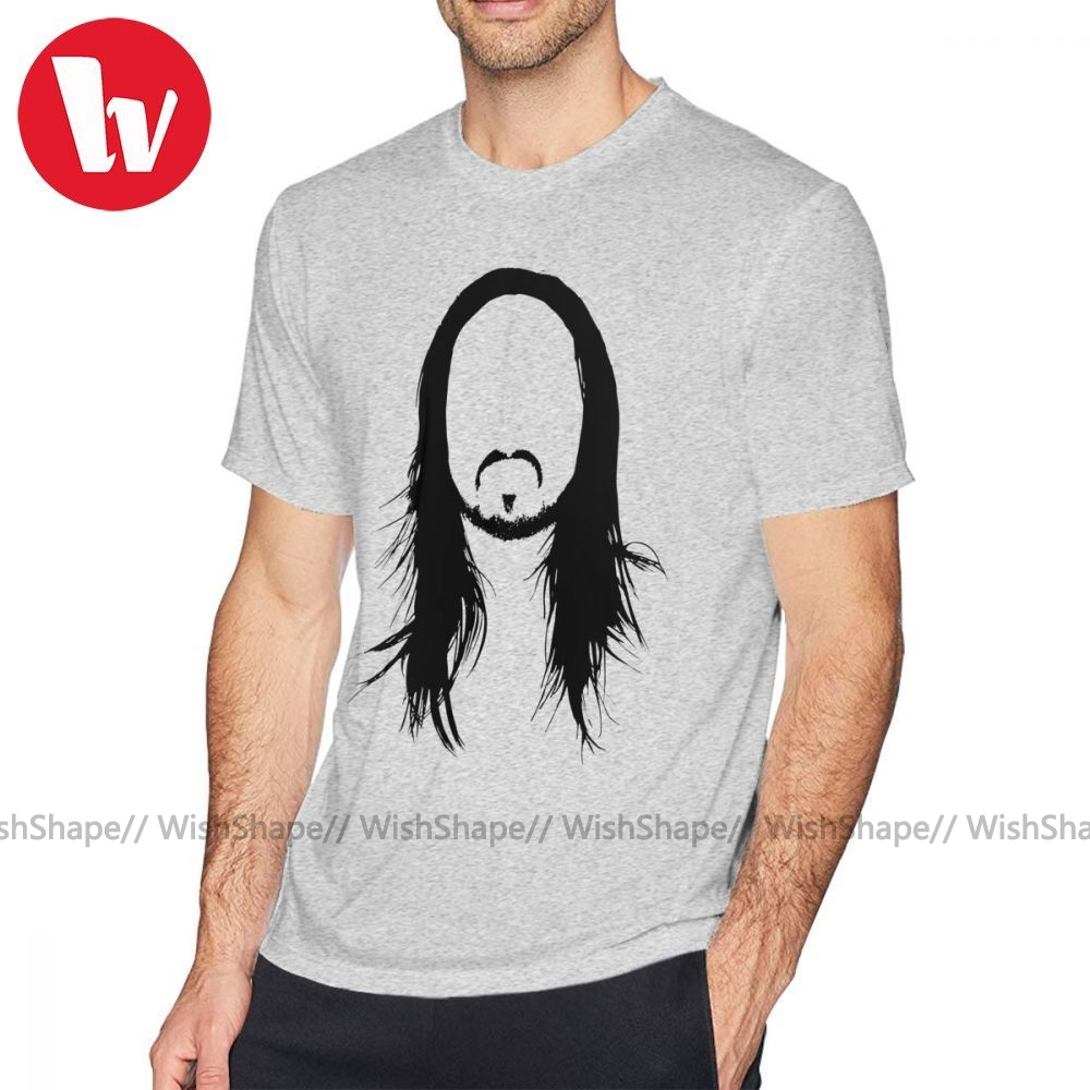 <font><b>Skrillex</b></font> <font><b>T</b></font> <font><b>Shirt</b></font> Steve Aoki <font><b>Shirt</b></font> <font><b>T</b></font>-<font><b>Shirt</b></font> Graphic Summer Tee <font><b>Shirt</b></font> Oversized 100 Percent Cotton Short-Sleeve Men Fun Tshirt image
