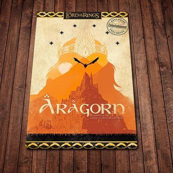 Aragorn Poster Wall Art Canvas Painting Poster and Pictures for Office Hospital Living Room Bedroom Decor image