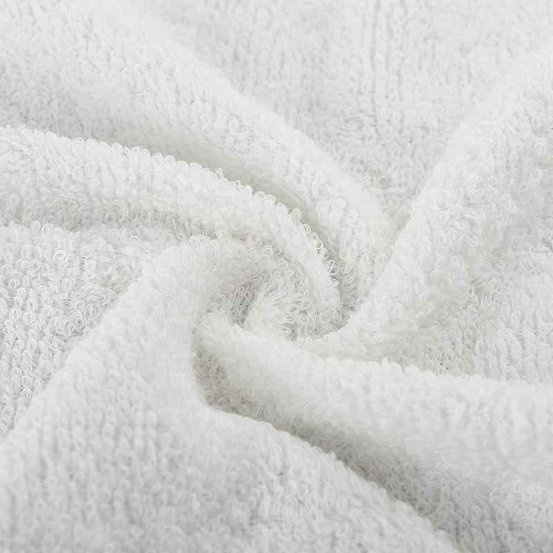 Toalhas de banho macias da toalha de banho toalhas de mão do casamento 33*73cm toalha de banho macia do salão de beleza da sauna dos termas do hotel toalhas de banho brancas do algodão do hotel