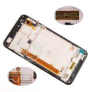 "Image 4 - מקורי 5 ""1280x720 IPS Lenovo K5 LCD תצוגת מסך מגע Digitizer עם מסגרת עבור Lenovo Vibe k5 A6020A40 A6020 A40 צגי Lcd"