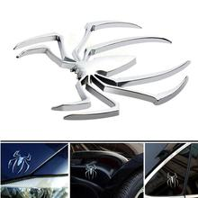 Dragonpad 3D Metal Car Stickers Auto Animal Spider Man Vehicle Tail Fender Car Body Decals Strong Adhesive Stickers