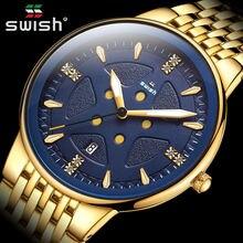 Relogio masculino роскошные золотые часы для мужчин модные креативные