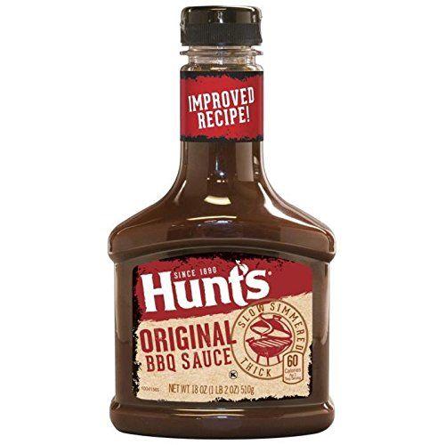 HUNTS Sauce BBQ Original Hunts 510g