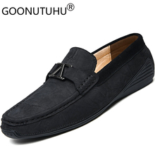 2019 new fashion men's shoes casual genuine leather male loafers slip on shoe man classics flats driving shoes for men hot sale mycolen new fashion genuine leather men loafers slip on casual shoes man luxury brand driving shoe male flats footwear black