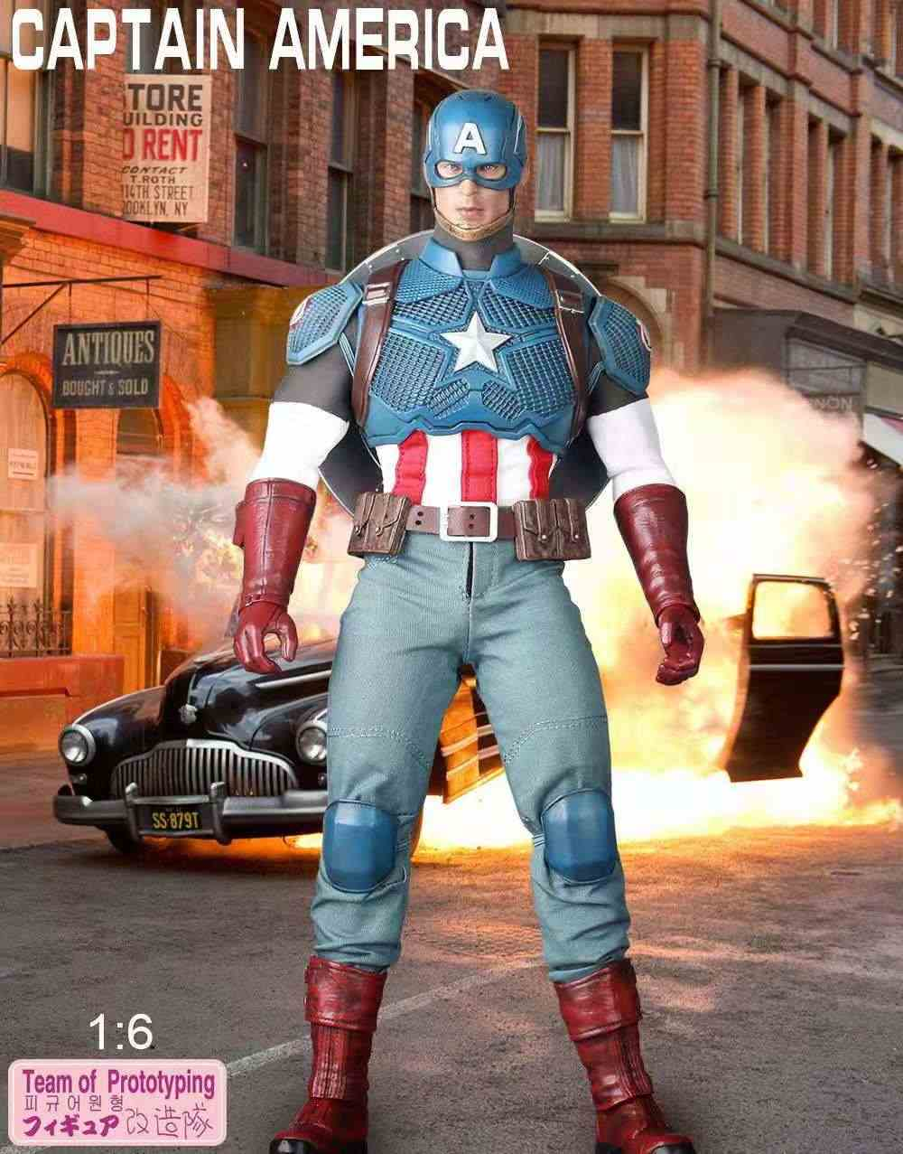 Marvel Captain America 1:6 articulations articulées jouets figurines mobiles