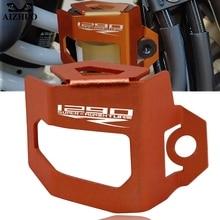 Для KTM 1290 SUPER ADVENTURE R- Мотоцикл с ЧПУ задний тормозной жидкости защитник резервуара крышка защита