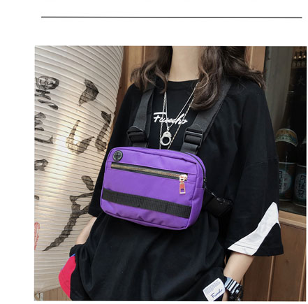 Hd7c855e5af954d9b8f755cbd9c5b2b8fS - Vest-Style Large Space Chest Bag Retro Square Chest Bag Streetwear Shoulder Functional Backpack Tactics Funny Pack G108