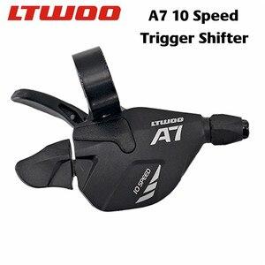 Image 2 - LTWOO A7 10 스피드 쉬프터 + 리어 디레일러 + 카세트/104BCD 체인 링 + 10 S 체인 그룹 세트, DEORE MTB Bike
