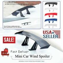 Универсальный мини-спойлер из углеродного волокна заднего крыла автомобиля авто украшение