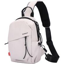 SenkeyStyle Fashion Shoulder Bags Women Sling Chest Backpacks Cross Body Off White Bag 2021 Couple Casual Nylon Bags