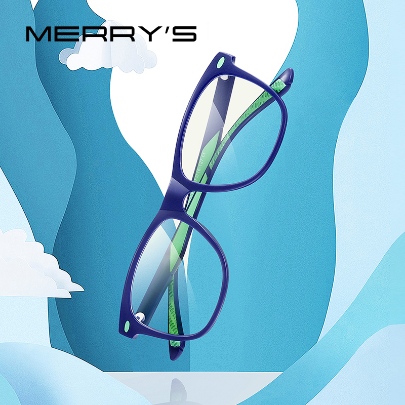 MERRYS DESIGN Anti Blue Light Blocking Glasses For Children Kids Boy Girl Computer Gaming Glasses Blue Ray Glasses S7102