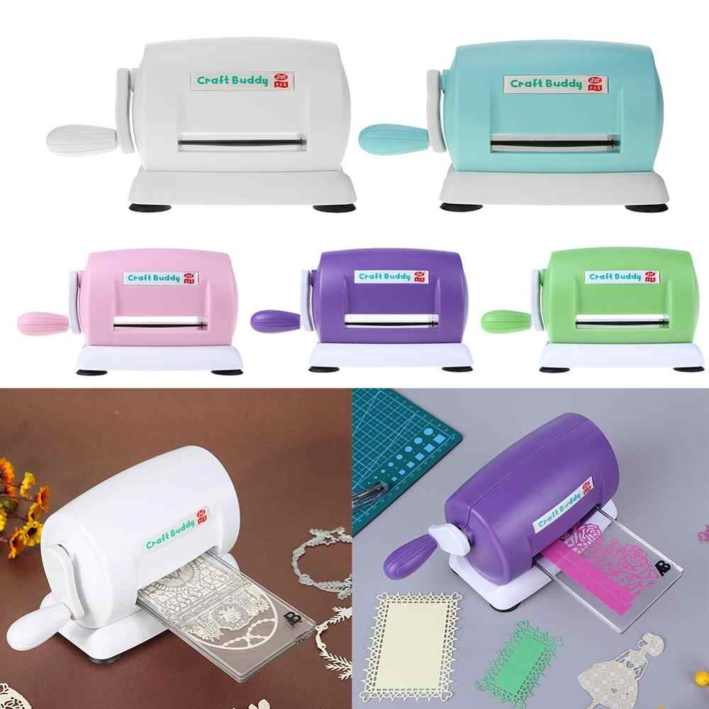 Gestanst Machines Sterft Cutting Embossing Thuis Diy Scrapbooking Papier Cutter Plastic En Metalen Draagbare Tool Mould Machine