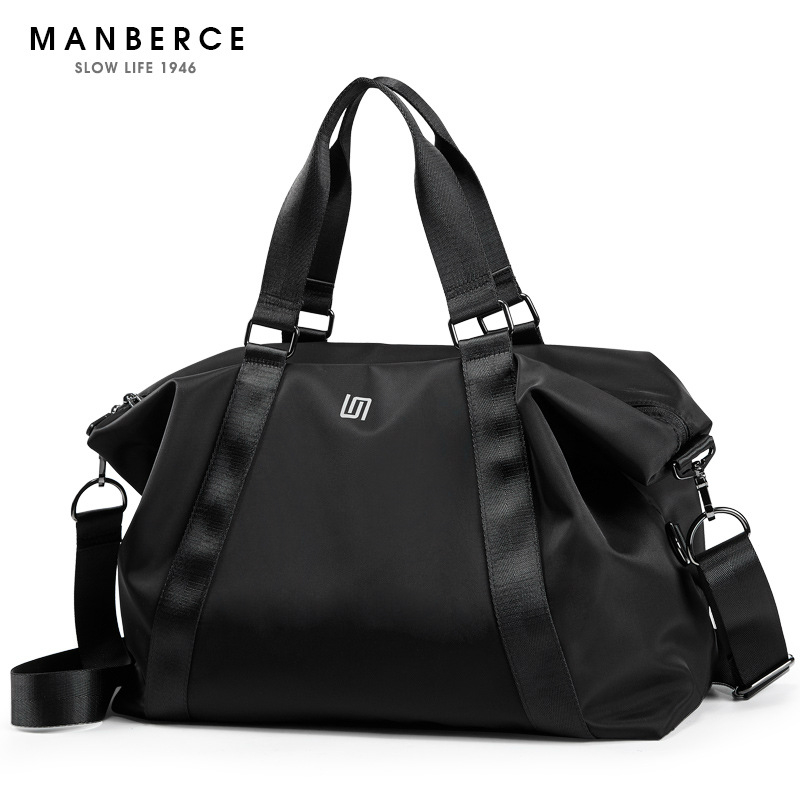 MANBERCE 2019New Portable Travel Bags Men for Large Capacity Baggage Short Trips and Light Free Shipping