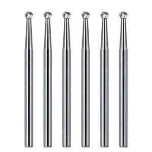 Dental Surgical Tungsten Carbide Bur Round Type 25mm FGXL 4/6/8 Drill For High Speed Dental Handpiece