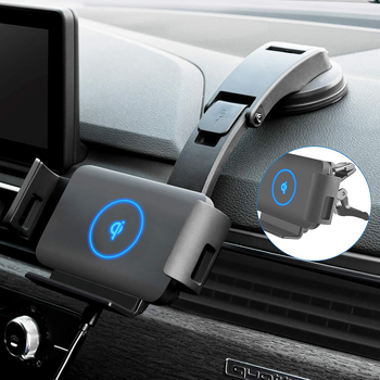 Car Wireless Charger 10W Qi Fast Phone Charger Holder for Samsung Galaxy Fold Note 10 9 S10 iPhone XR XS 11 X Max Huawei Mate X
