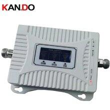 Усилитель сотовой связи 2G 3G 4G 900 1800 2100 МГц, трехдиапазонный усилитель мобильного сигнала, 2G 3G 4G LTE, ретранслятор сотовой связи GSM DCS WCDMA