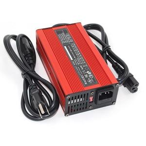 Image 2 - 67.2V 3A Charger 67.2V Li Ion Batterij Smart Charger Voor 16S 59.2V 60V Li Ion Batterij Hoge power Met Ventilator