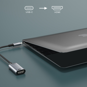 Image 3 - CABLETIME USB C כדי HDMI מתאם 4K 60Hz נתונים סנכרון אלומיניום סגסוגת ממיר עבור מחשב נייד Dell Acer C382