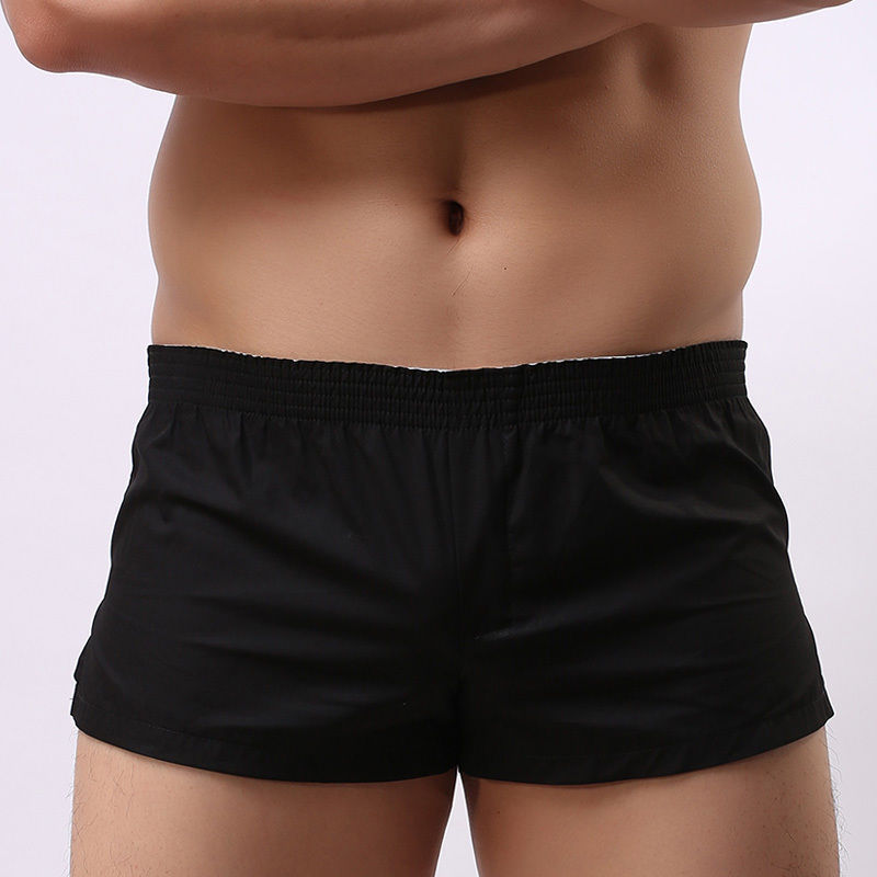 Men's Summer Breathable Cotton Men's Gym Sports Running Sleep Comfortable Casual Shorts