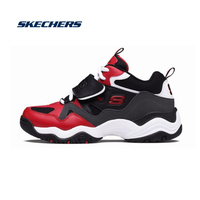 Skechers Casual Shoes Woman Fashion D'lites Sport Shoes Original Brand Luxury Sneakers Women Chunky Flats 99999111 RDBK